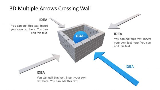 Brick Wall PowerPoint Templates
