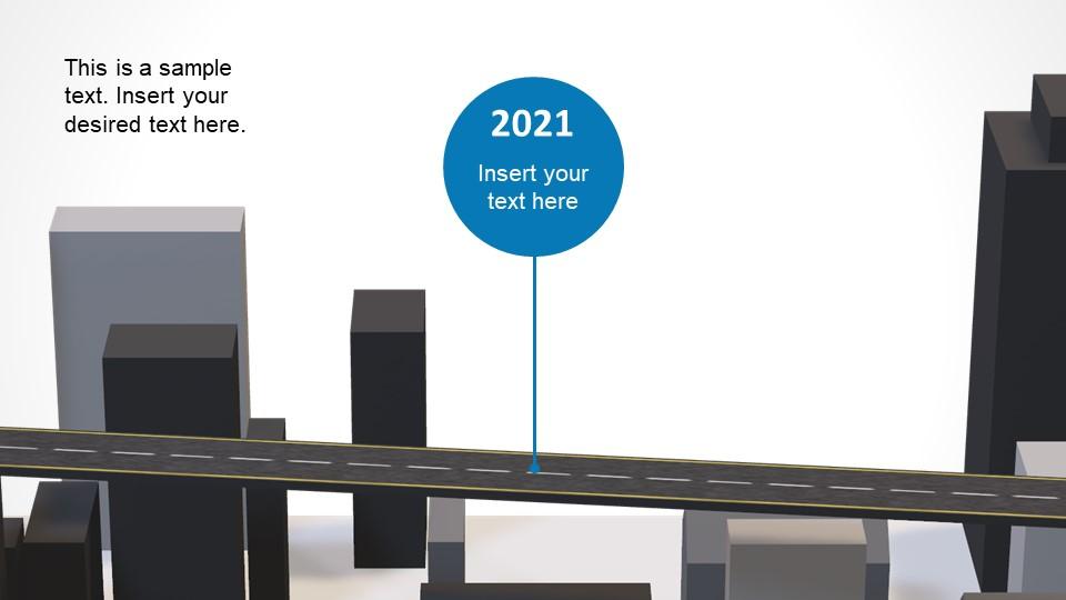 Slide of City 3D Roadmap