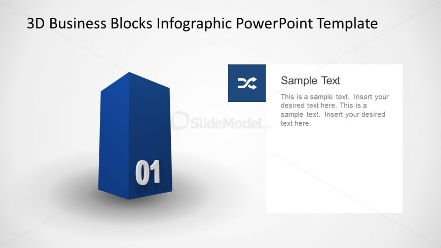 Presentation of 1 Cube Block