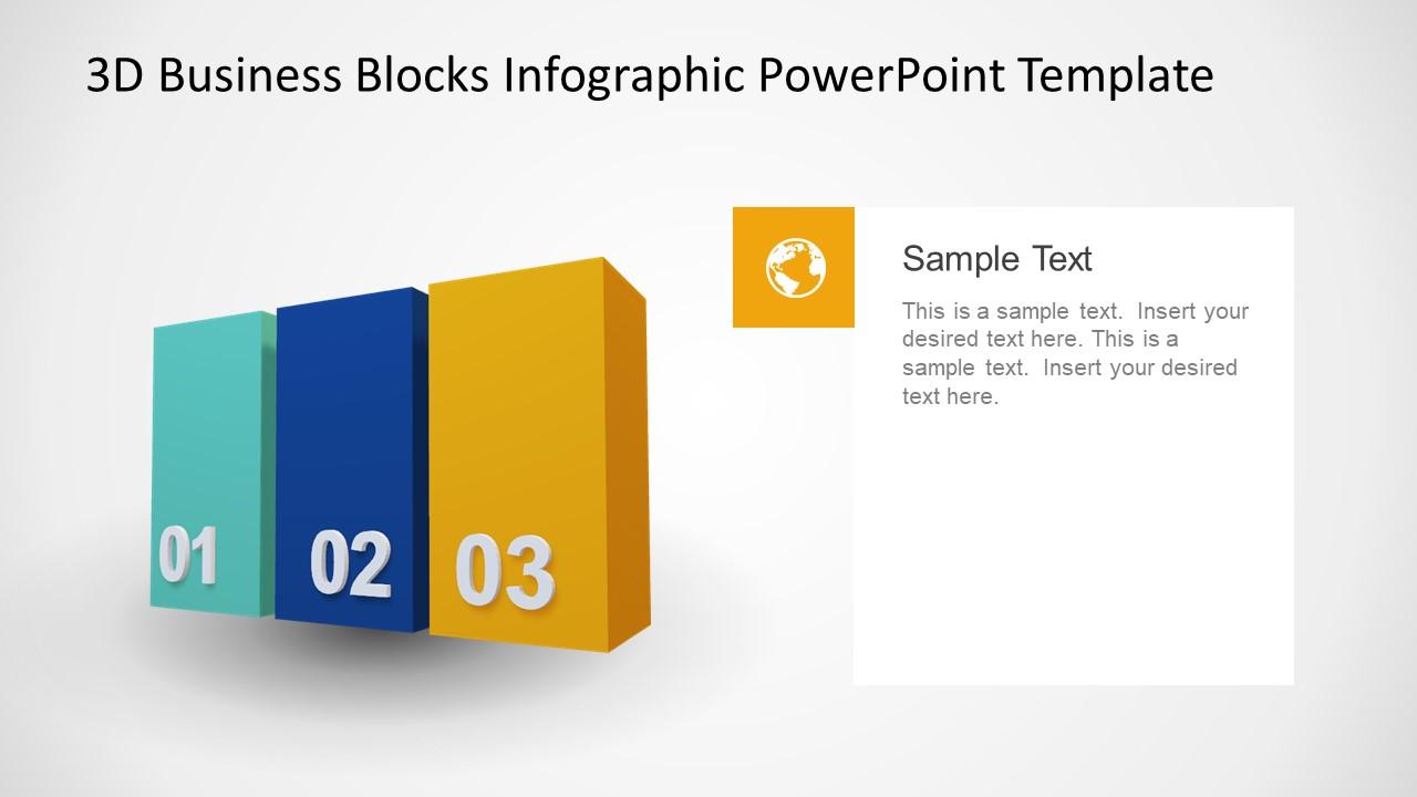 PPT Animated 3D Blocks