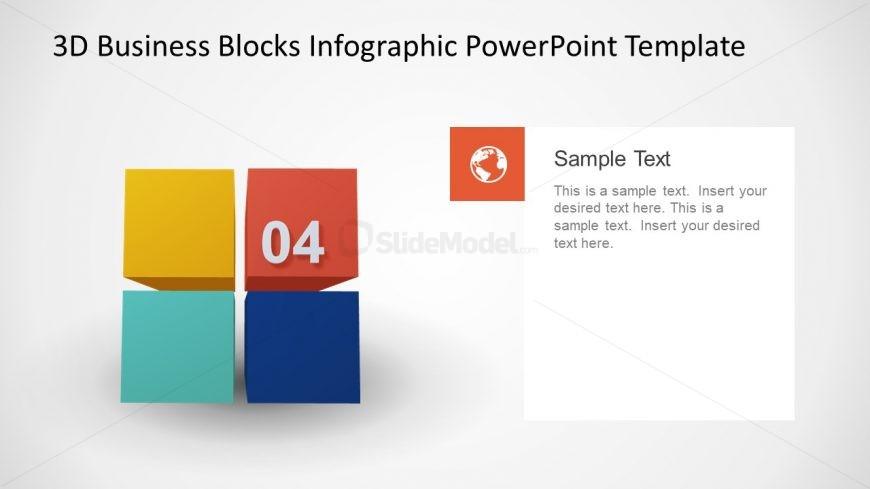 Business Presentation 3D Cubes