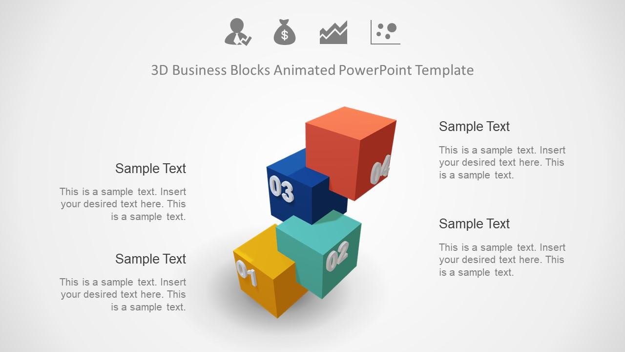 PPT 3D Template Design