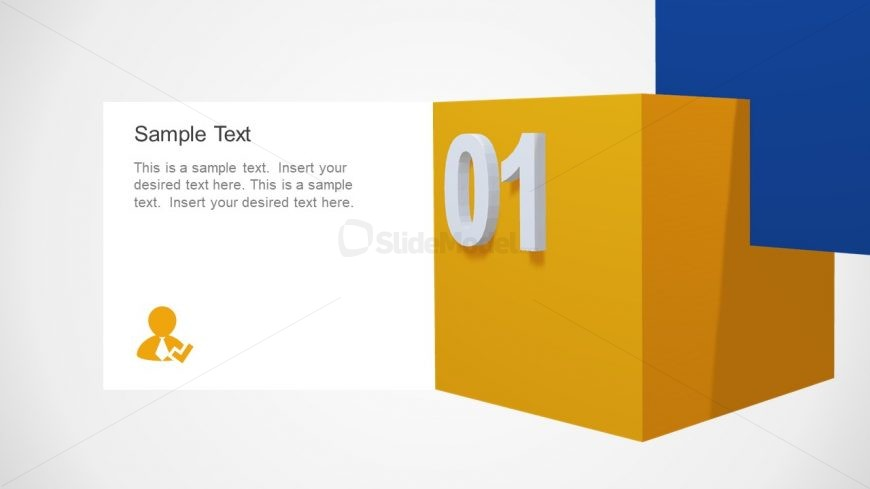 Animated 3D Cubes Presentation