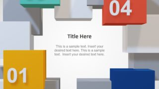 3D Cube Template Slides