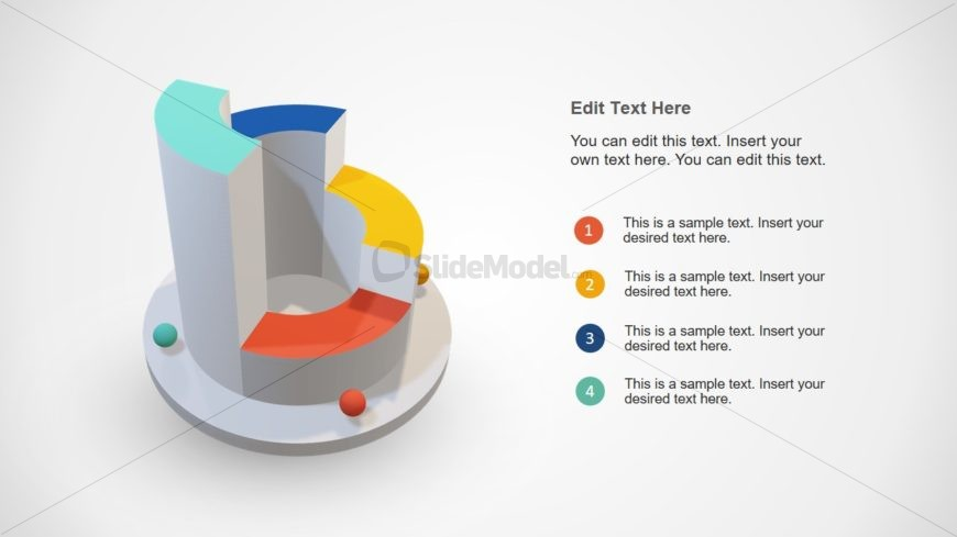 PowerPoint 3D Diagram Template
