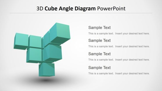 3D Cube Diagram PowerPoint