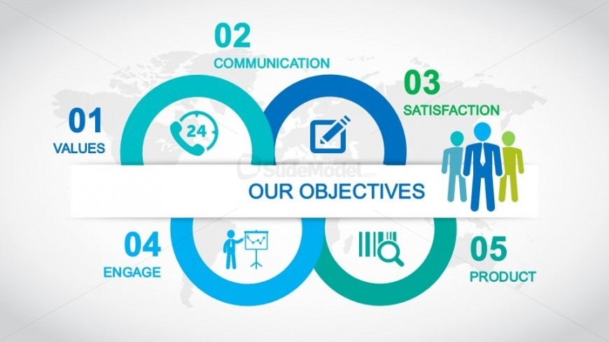 Goals & Objectives Slide Design for PowerPoint