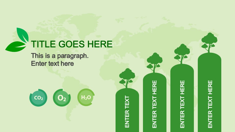 Animated eco friendly powerpoint template slidemodel animated bar chart in natural resources powerpoint template toneelgroepblik Images