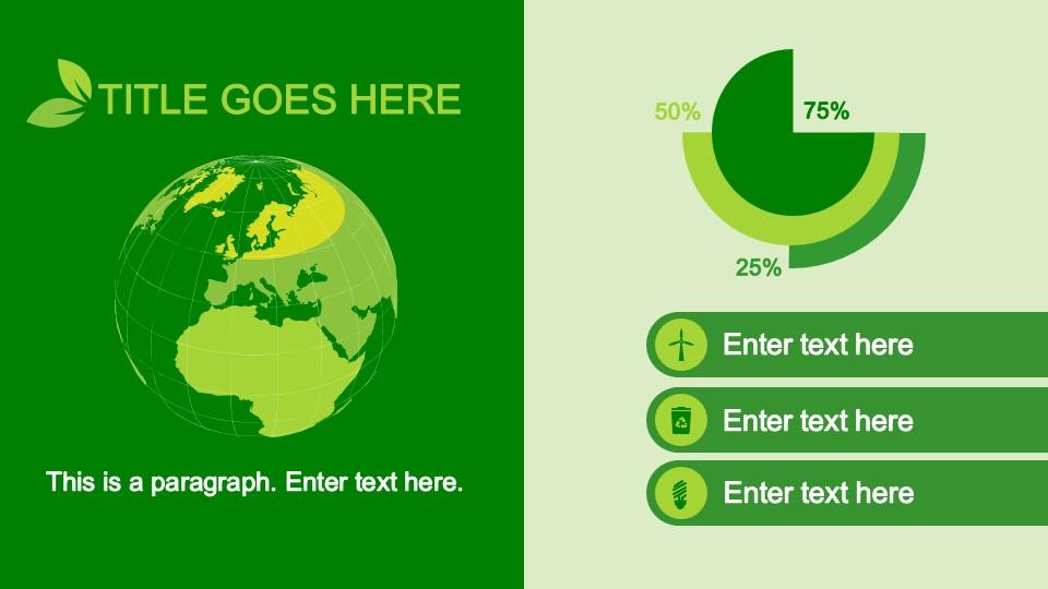 4004 01 eco powerpoint template animated 5 slidemodel toneelgroepblik Image collections