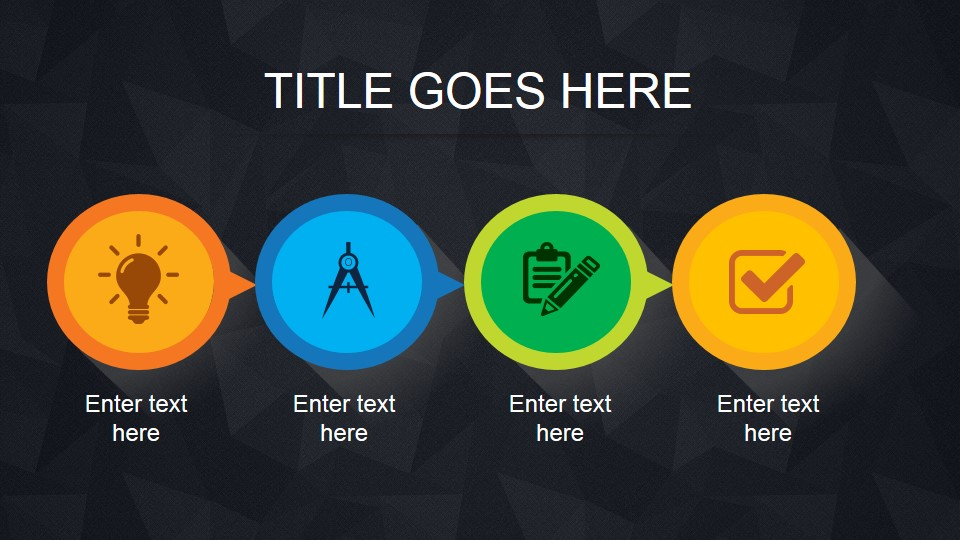 simple animated powerpoint template slidemodel