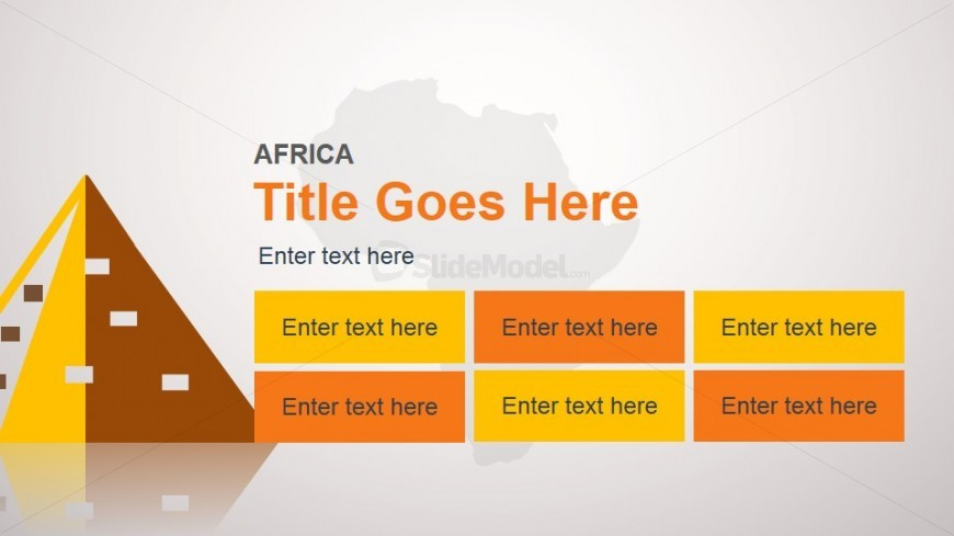 africa slide design template for powerpoint - slidemodel, Modern powerpoint