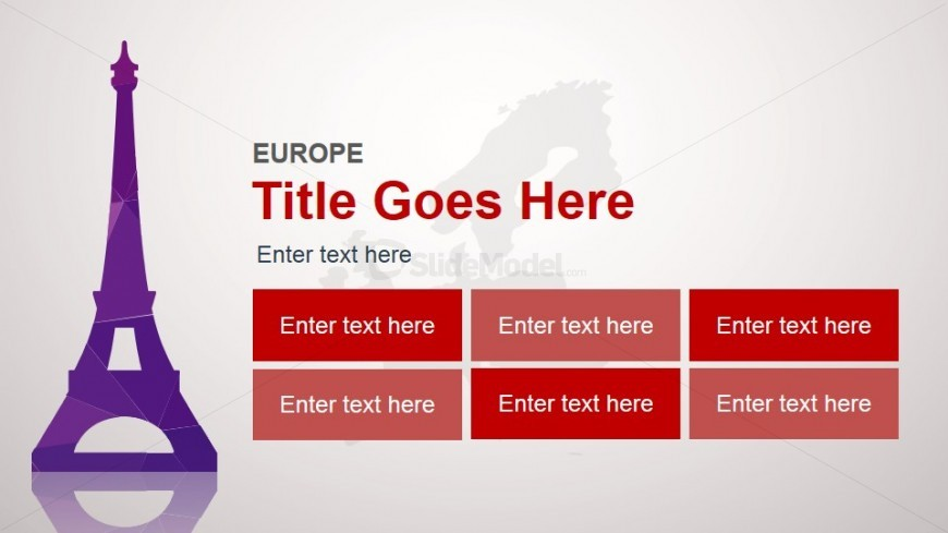 Europe Slide Design Template for PowerPoint