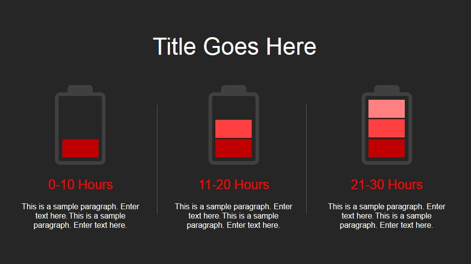 Red Portfolio Powerpoint Template Slidemodel