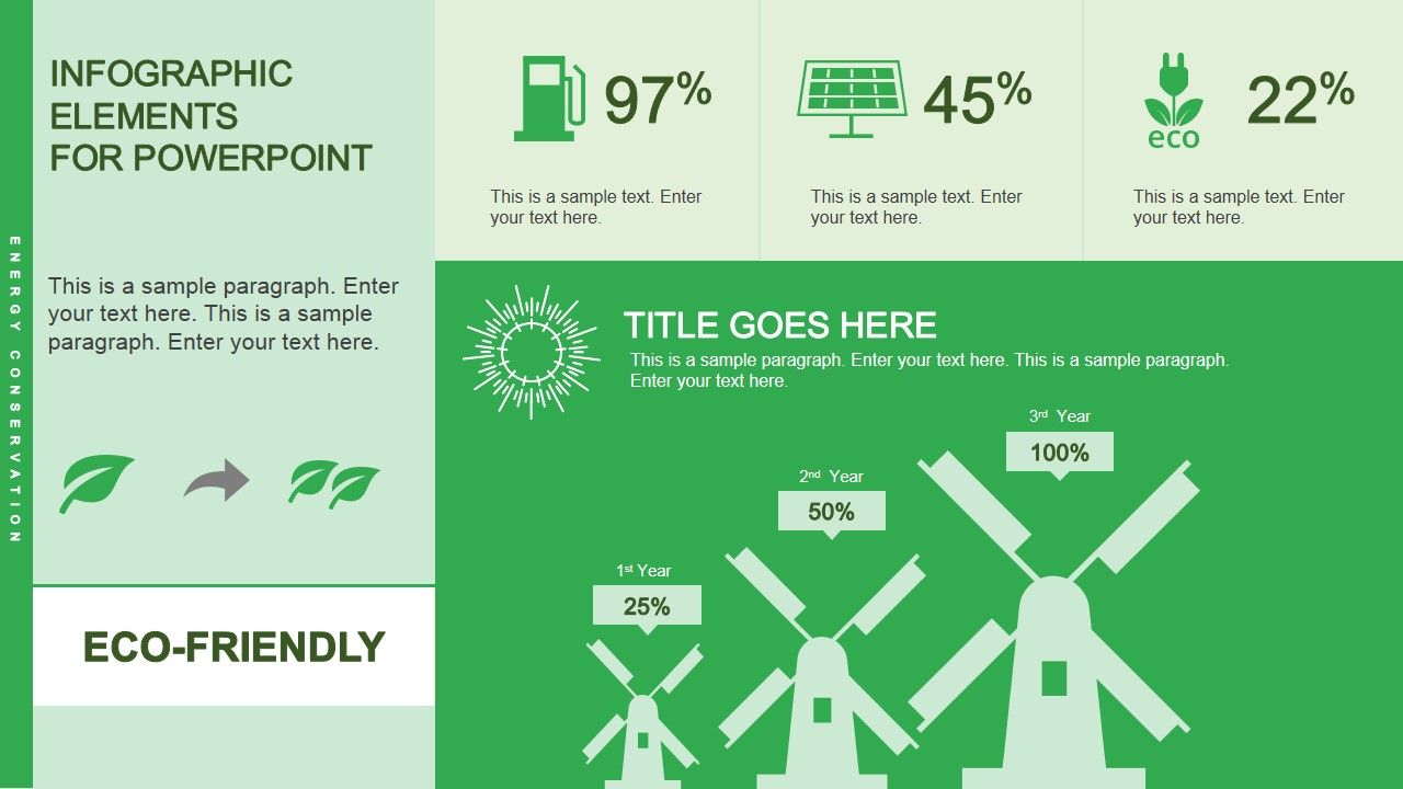eco friendly infographic powerpoint template