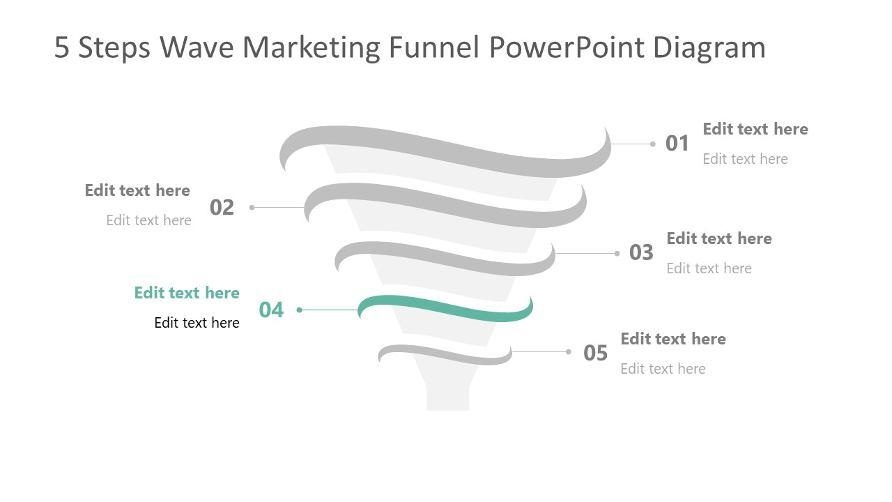 Step 4 of Marketing Funnel Template Diagram