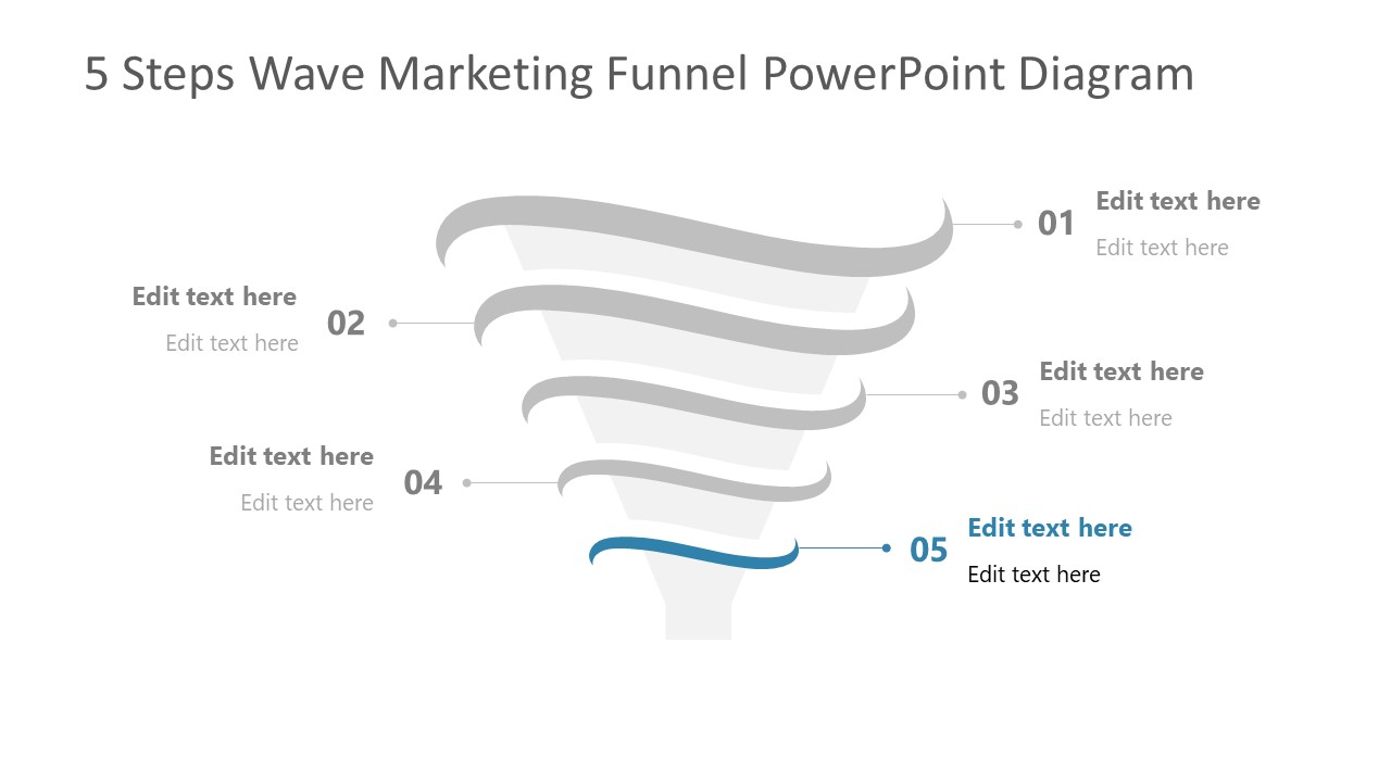 Step 5 of Marketing Funnel Template Diagram