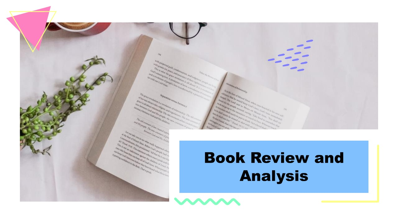 PPT Book Report Template for Book Review and Analysis