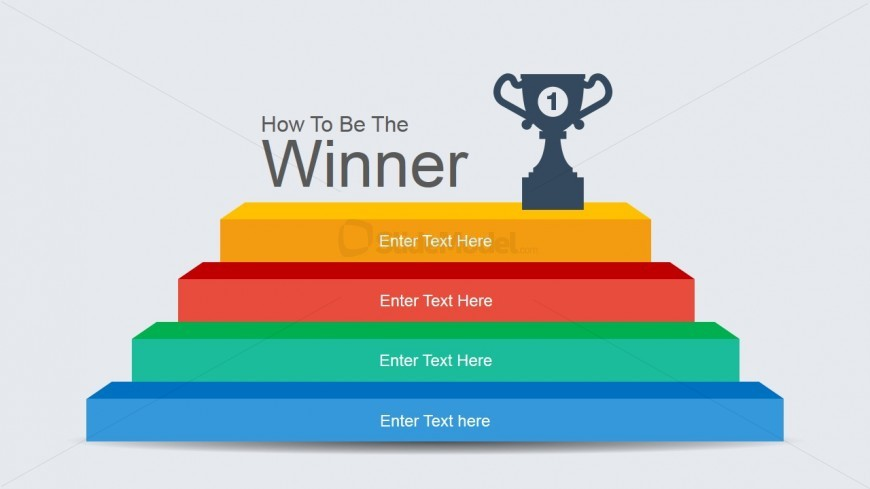 Step stairs powerpoint diagram and winner podium slidemodel step stairs powerpoint diagram and winner podium ccuart Images