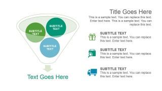 Funnel Diagram Design Smart Art Graphic