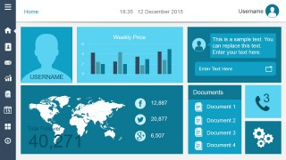 Smart Dashboard PowerPoint Slide Design