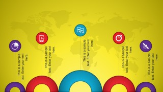 Animated Vibrant Slide Design with Circles