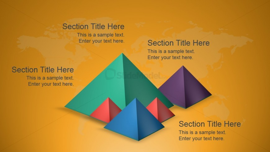 3D Pyramids for PowerPoint