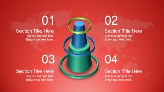 Creative 3D Shape for PowerPoint