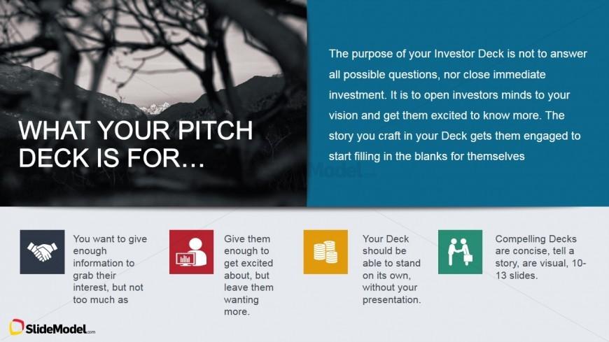 what your pitch deck is for tutorial slide slidemodel. Black Bedroom Furniture Sets. Home Design Ideas