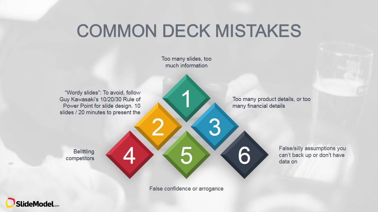 pitch mistakes tips for effective presentations - slidemodel, Presentation templates