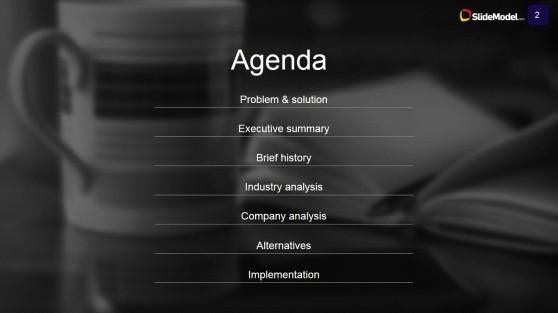 Case Study Analysis Agenda