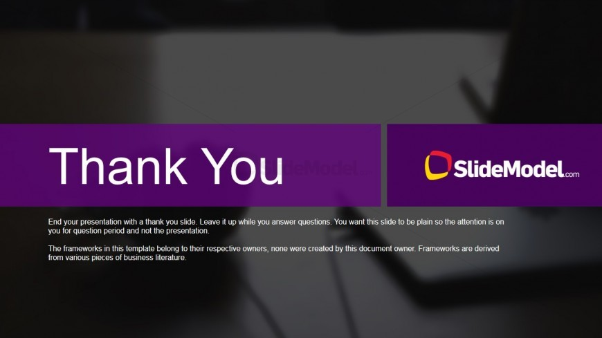 Case Studies Thank You Page Slidemodel