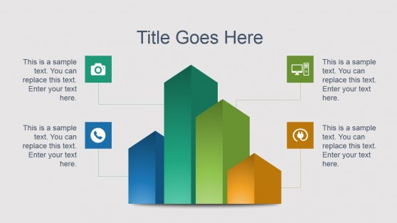 Creative Bar Chart PowerPoint Slide Design
