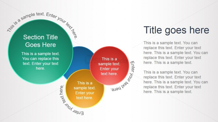 Circles PowerPoint Slide Layout