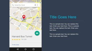 PowerPoint Widget Prototypes for Android Google Maps