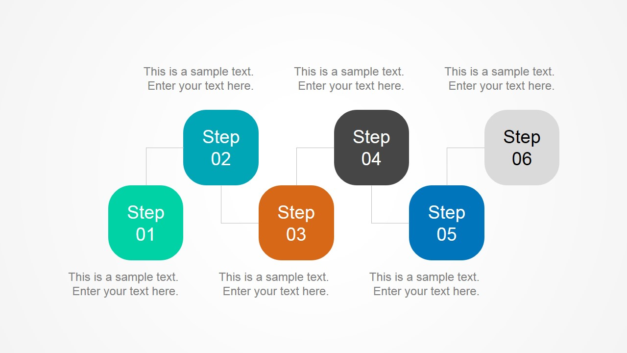 Multi-Step Diagram for PowerPoint
