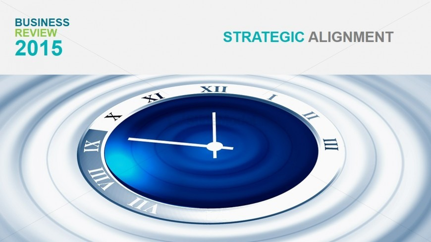 Strategic Alignment Section Slide Background - Slidemodel