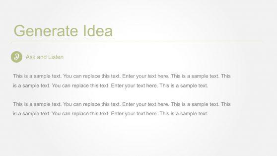 Design Thinking Strategy Innovation Slides