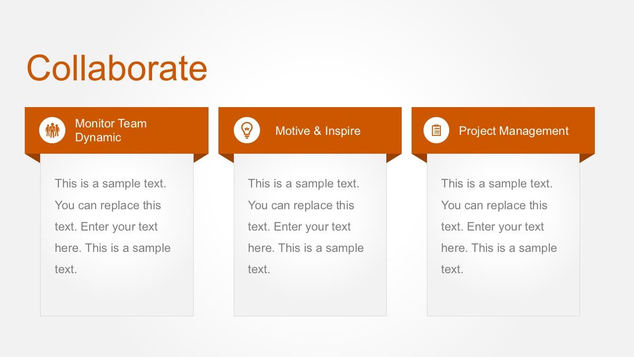 Team Management Slide Template PowerPoint