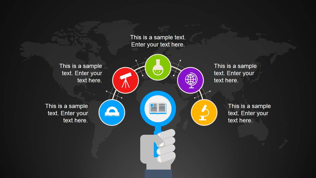global education powerpoint template