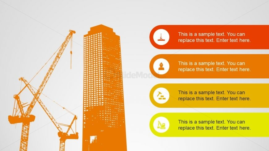 Construction PowerPoint Template Design