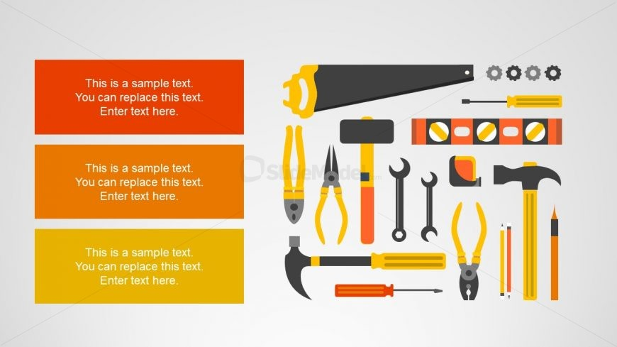 Tools of Construction Clipart Icons