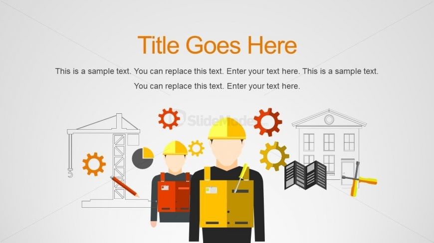 PPT Useful Icons for Building Construction