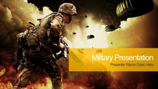Battlefield PowerPoint Template Design