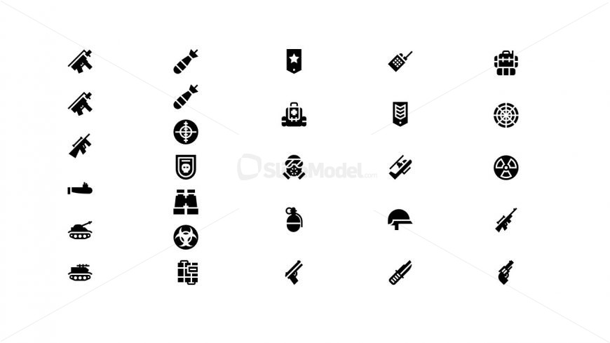 infographic powerpoint slide clipart icon