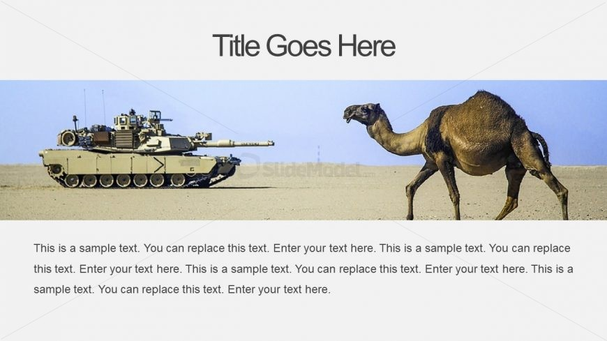 Slide of Army Tank Presentation