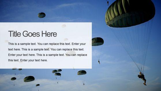 Battlefield War PowerPoint Slide