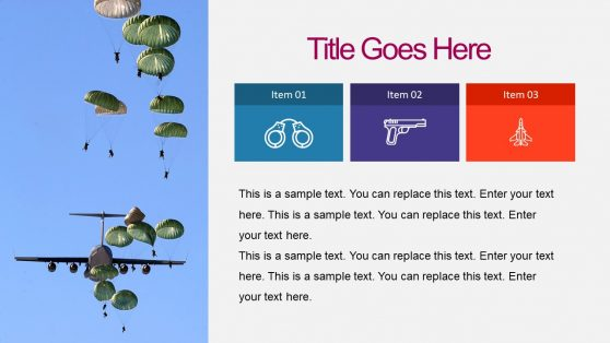 Generic Military PowerPoint and Infographics