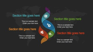 Global grid powerpoint template slidemodel global grid powerpoint template is a presentation design template for microsoft office with dark background style and creative business slides that you can toneelgroepblik Image collections