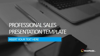 PowerPoint Template for Professional Sales Presentations