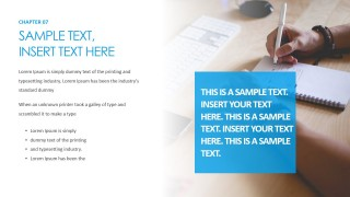 PowerPoint Template for Product Features and Solutions